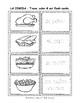 La Comida,  Spanish Thanksgiving - Abuela Rosa - book, flash cards, printables