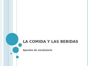 La Comida - Vocabulary Introduction
