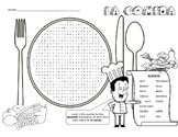 La Comida - wordsearch