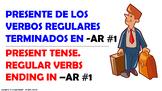 La Conjugación de los Verbos en Español en Tiempo Presente.