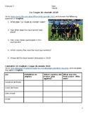 La Coupe du Monde/World Cup Webquest 2018
