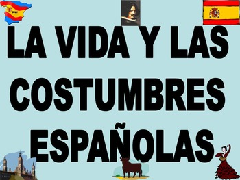 La Cultura de Espana Power Point in Spanish