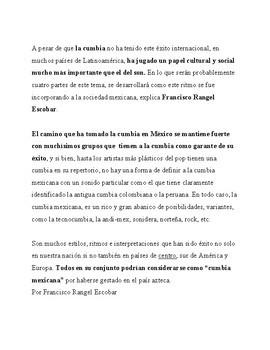 La Cumbia Méxicana