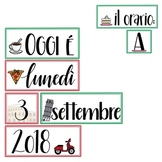 La Data: Italy-themed Calendar Set in Italian