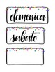 La Data (Printable calendar set in Italian!)