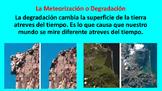 La Degradacion y Erosion Spanish PowerPoint