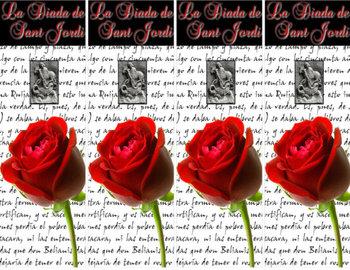 La Diada de Sant Jordi/ El Día de San Jorge / Saint George's Day Bookmarks