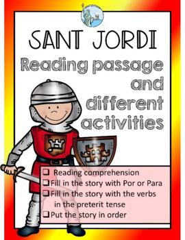 La Diada de Sant Jordi Reading about the legend and activities