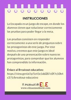 La Escapada: un Breakout educativo