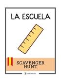 La Escuela Scavenger Hunt
