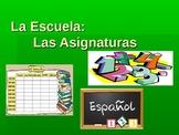 La Escuela: School Schedule, Subjects & Activities in Spanish!