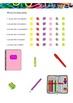 La Escuela - School Supplies in Spanish - Activity Pack