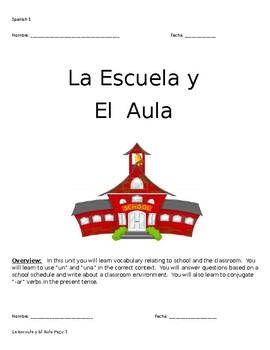 La Escuela y El Aula Packet