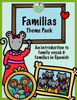 La Familia Family Theme ACTIVITY PACK + MINIBOOKS Spanish Printable Resources