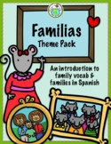 La Familia Family Theme ACTIVITY PACK + MINIBOOKS Spanish