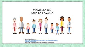 La Familia Beginning Spanish