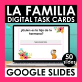 La Familia Google Slides | Spanish Family Vocabulary Digit