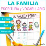 La Familia escritura - Family in Spanish DIGITAL & PRINT