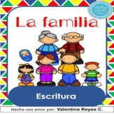 La Familia: Escritura - Family in Spanish DISTANCE LEARNIN