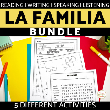 La Familia Spanish Family BUNDLE