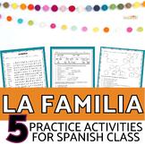 La Familia | Family in Spanish BUNDLE