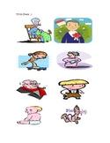 La Familia: Family Print Outs for Elementary Spanish Class