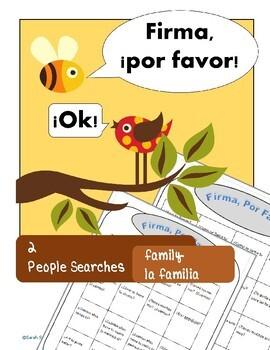 La Familia, Family Spanish Interviews, Walking Questionnai