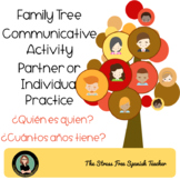 La Familia - Family Tree Communicative Activity for Spanish classes
