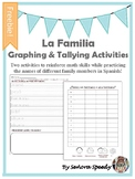 La Familia Graphing & Tallying Activities