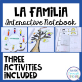 Spanish Interactive Notebook - La Familia