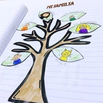 Spanish Interactive Notebook - La Familia