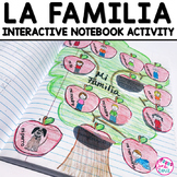 Spanish Interactive Notebook Activity:  La Familia