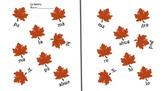 La Familia - Juntar las hojas - Fall theme Family Worksheet - Family