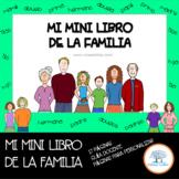 La Familia, Mini Libro. Español / Spanish (Incluye plantil