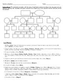 Spanish 1: La Familia Misteriosa (Level 2) Worksheet