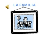 La Familia Power Point with Sound!