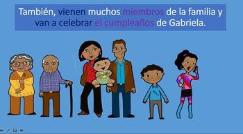 La Familia: Realidades 5A vocabulary and grammar in contex