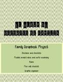 La Familia Spanish Family Scrapbook Project (family nouns,