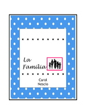 La Familia ~ Spanish Family Unit Activities ~ Spanish Dist