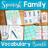 La Familia Spanish Family Vocabulary Bundle