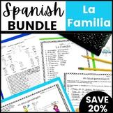 La Familia Spanish Family Vocabulary Lesson Bundle
