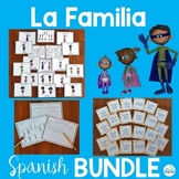 La Familia Spanish Family Vocabulary Lesson Bundle