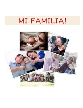 La Familia - Spanish Family Writing Project
