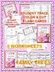 La Familia - Spanish Family book, student reader, flash cards, printables