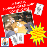 La Familia Spanish Go Fish Game