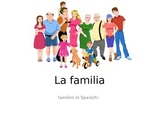 La Familia - Spanish family vocabulary