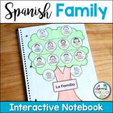 La Familia (The Family) Spanish Interactive Notebook Activity