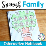 La Familia (The Family) Spanish Interactive Notebook Activity