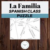La Familia The Family Vocabulary Review Spanish Puzzle