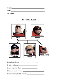 La Familia-The Incredibles 2